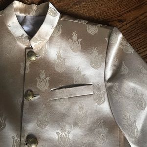 French designer vintage gold jacket menswear